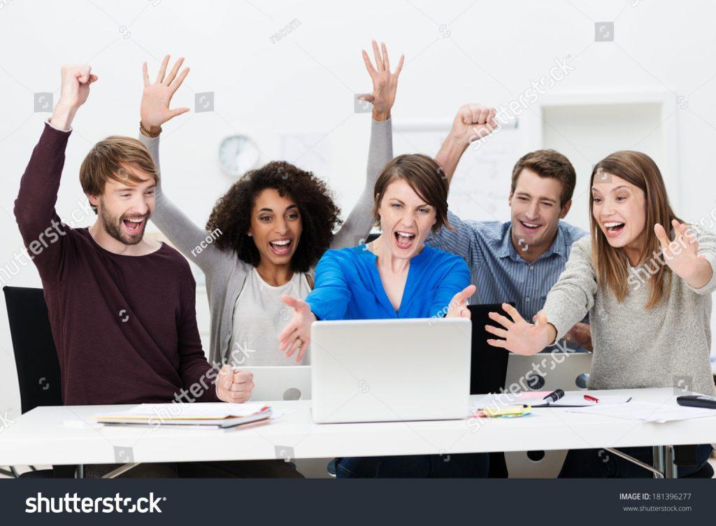 exuberant group